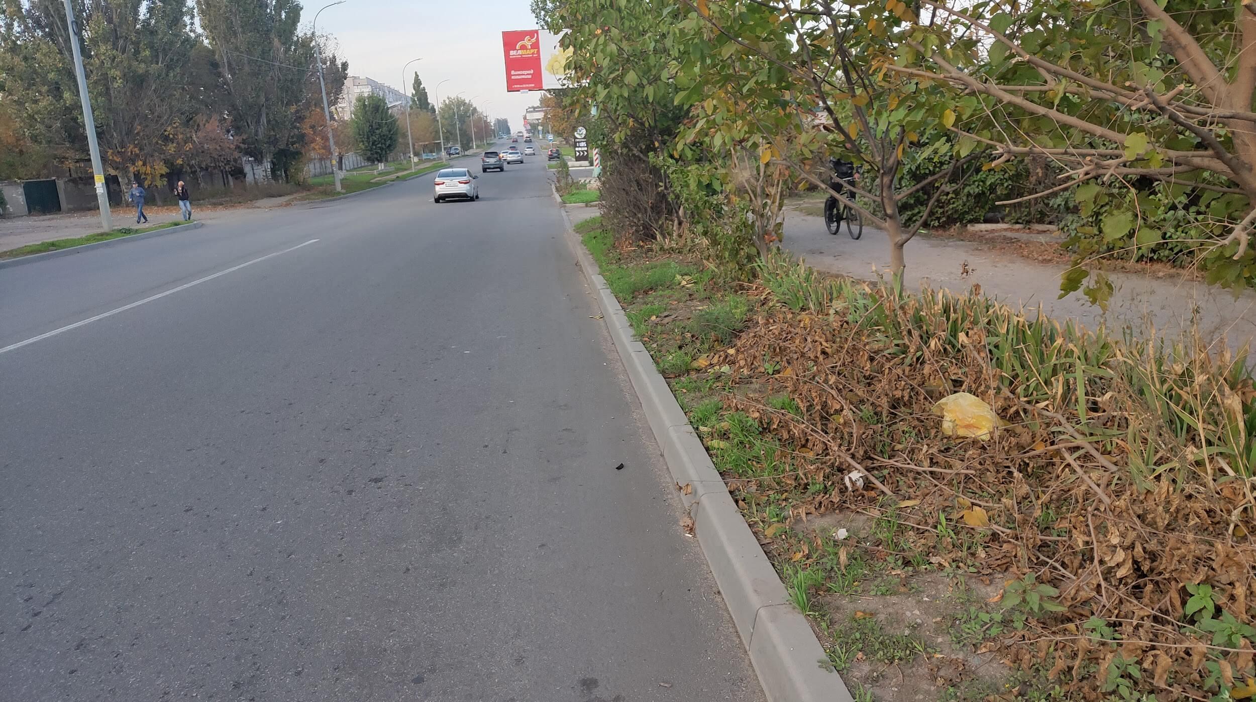 Східний проспект ( між вул. Молодогвардійською та вул. Лізи Чайкіної)